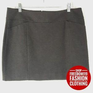 White House Black Market | A-line Short Skirt (L)